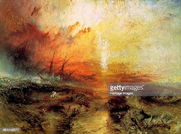 The Slave Ship 1840 Turner William Found in the collection of the Museum of Fine Arts Boston Massachusetts USA
