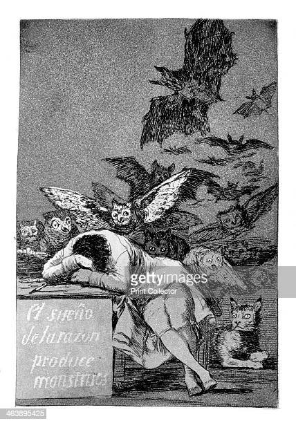 'The sleep of reason produces monsters' 1799 From 'Los caprichos' Los Caprichos were published in 1799 at a time of social repression and economic...