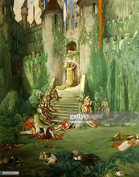 The Sleeping Beauty, 1913-1922. Found in the collection of Waddesdon Manor. Artist : Bakst, Léon .