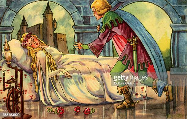 The Sleeping Beauty Fairy tale by French author Charles Perrault 12 January 1628 – 16 May 1703 The scene where the Prince appears to the Sleeping...