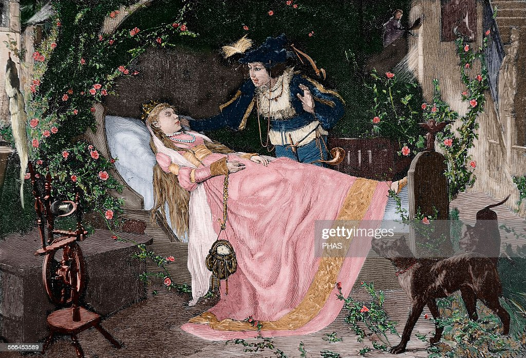 The Sleeping Beauty. : News Photo