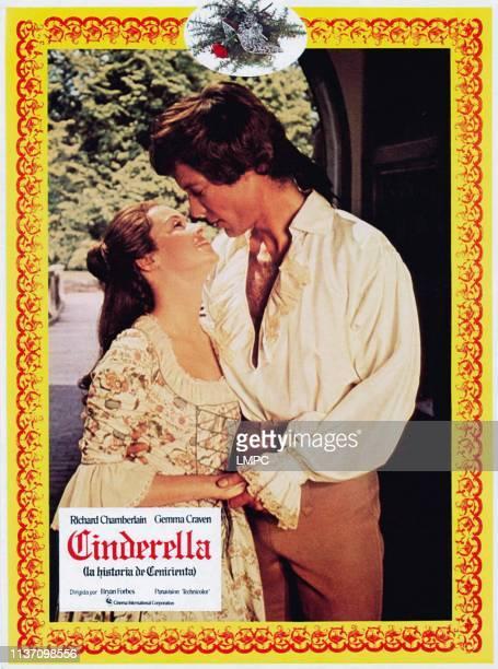 The Story Of Cinderella lobbycard aka CINDERELLA from left Gemma Craven Richard Chamberlain 1976