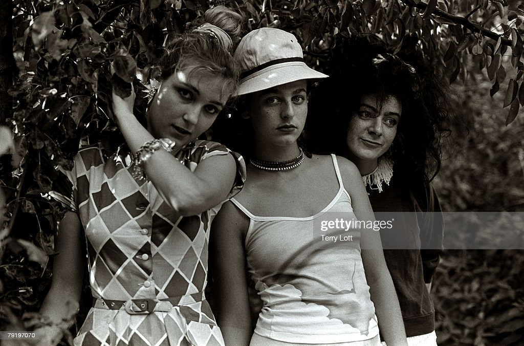 The Slits Press Shoot, New Cross, London