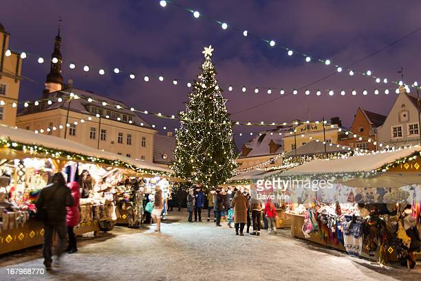 The small and enchanting cobbled streets of Tallinn are brought to life during the winter period with a light dusting of snow on rooftops and...