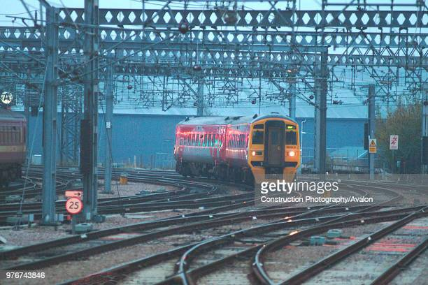 The small fleet of Class 158/9 units sponsored by West Yorkshire Passenger Transport Executive under the Metro branding is often used for...