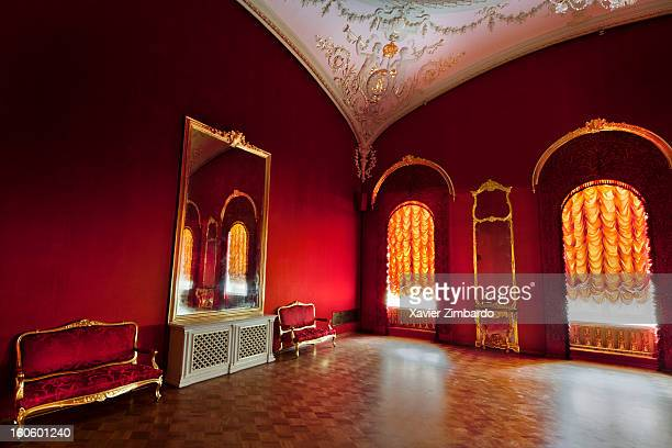 The small imperial room on the first floor of the Bolshoi Ballet theater on September 26, 2011 in Moscow, Russia.