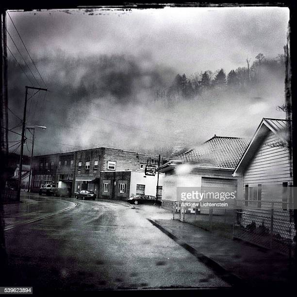 The small West Virginia coal mining town of Whitesville