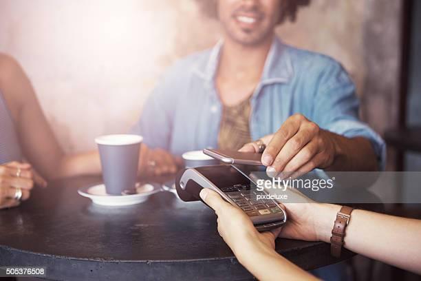 La forma más inteligente para pagar su café