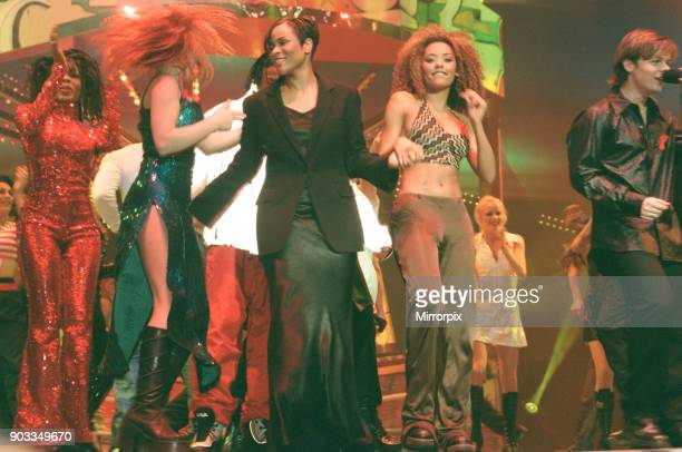 The Smash Hits Poll Winners Party 1996 hosted by Ant and Dec and Lily Savage Picture taken 1st December 1996 Picture shows Geri Halliwell Gabrielle...