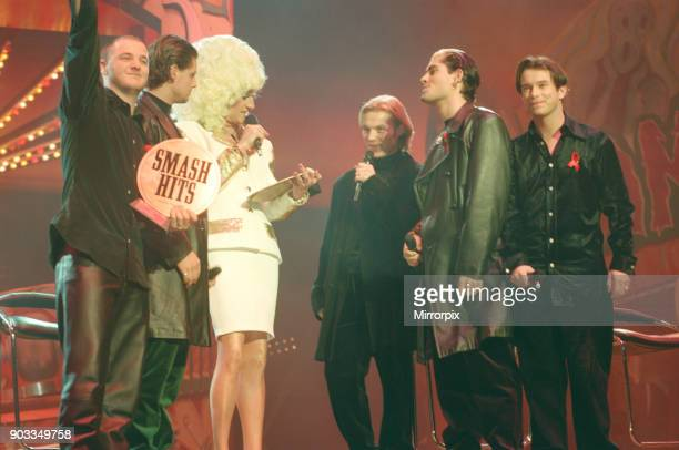 The Smash Hits Poll Winners Party 1996 hosted by Ant and Dec and Lily Savage Picture taken 1st December 1996 Picture shows singer Lily Savage...