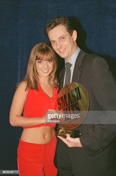 The Smash Hits Poll Winners Party 1996 hosted by Ant and Dec and Lily Savage Picture taken 1st December 1996 Picture shows singer Louise Nurding with...