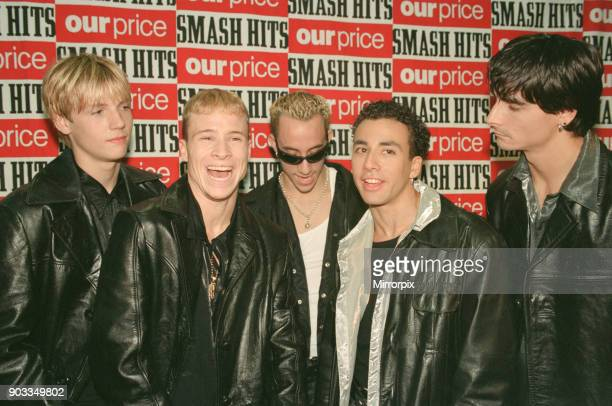 The Smash Hits Poll Winners Party 1996 hosted by Ant and Dec and Lily Savage Picture taken 1st December 1996 Picture shows The Backstreet Boys