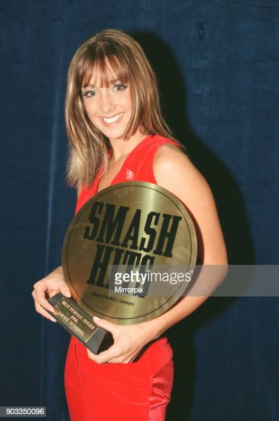 The Smash Hits Poll Winners Party 1996 hosted by Ant and Dec and Lily Savage Picture taken 1st December 1996 Picture shows the Louise Nurding with...