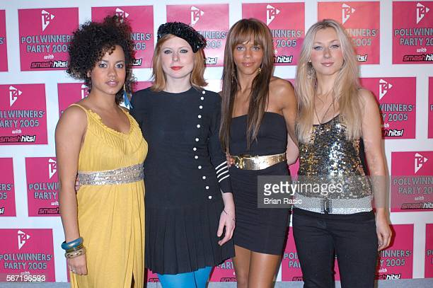 The Smash Hits Poll Winners Party Wembley Pavilion London 20 Nov 2005 Totally Frank Helena Dowling Bryony Afferson Lauren Blake And Hayley Angel...