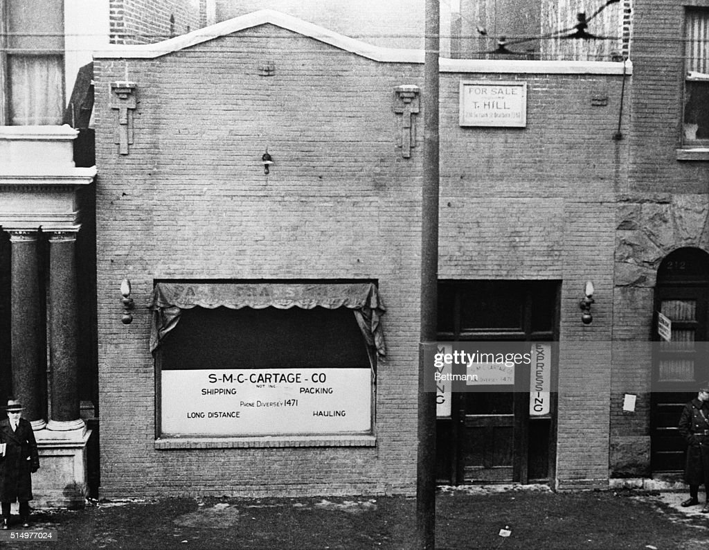 The S-M-C Cartage Company warehouse at 2122 North Clark St. in... News  Photo - Getty Images