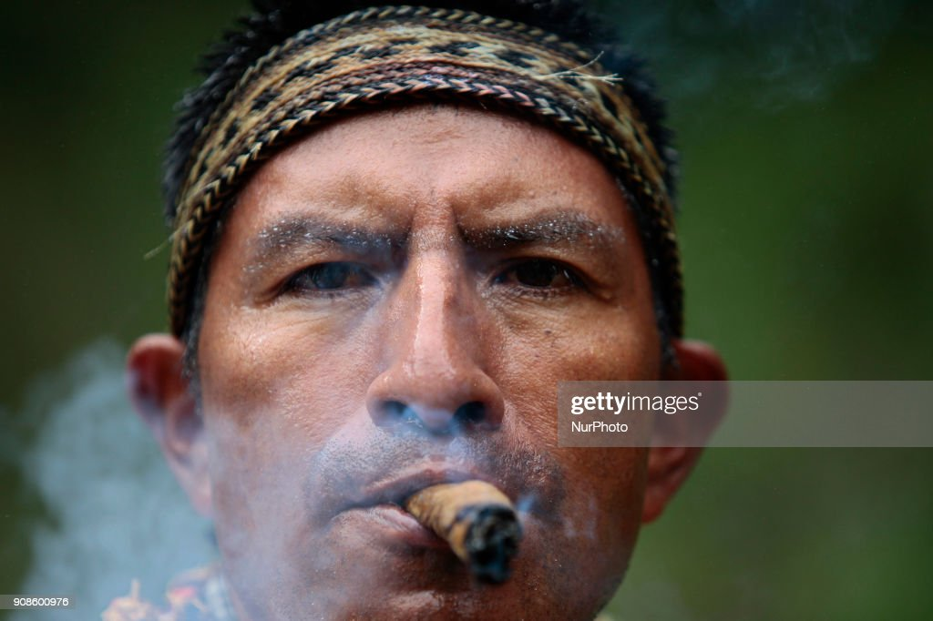 Shamans in Ecuador
