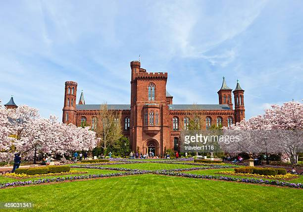 Smithsonian Castle In Washington, DC, entfernt.