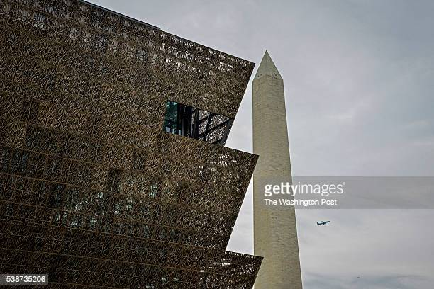 The Smithsonian National Museum of African American History and Culture is situated near the Washington Monument on Tuesday May 10 in Washington DC...