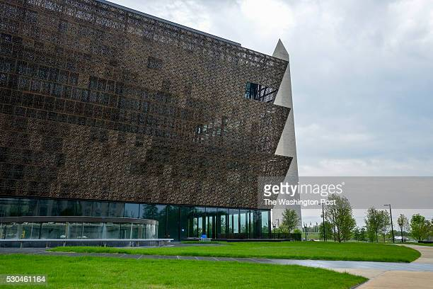 The Smithsonian National Museum of African American History and Culture sits near the Washington Monument on Tuesday May 10 in Washington DC The...