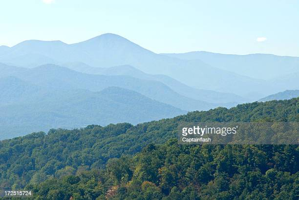 as smoky mountains - parque nacional das great smoky mountains - fotografias e filmes do acervo