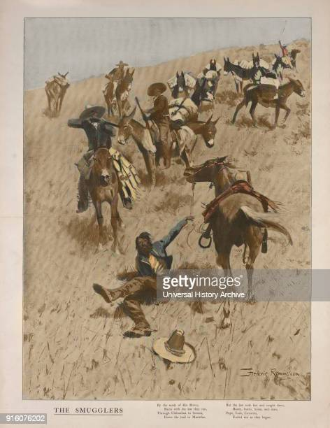 The Smugglers Frederic Remington 1902
