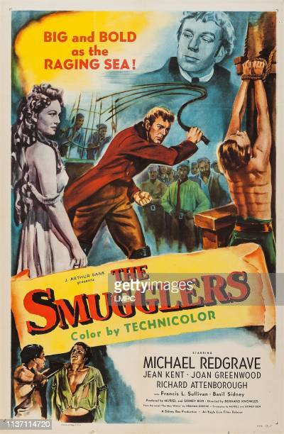 The Smugglers poster US poster middle from left Jean Kent Michael Redgrave 1947