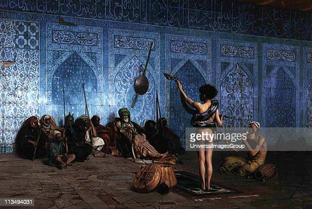 The Snake Charmer by JeanLeon Gerome France 18241904