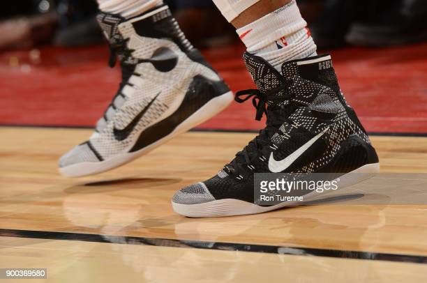 1b23cb39a3ff The sneakers of DeMar DeRozan of the Toronto Raptors are seen during the  game against the