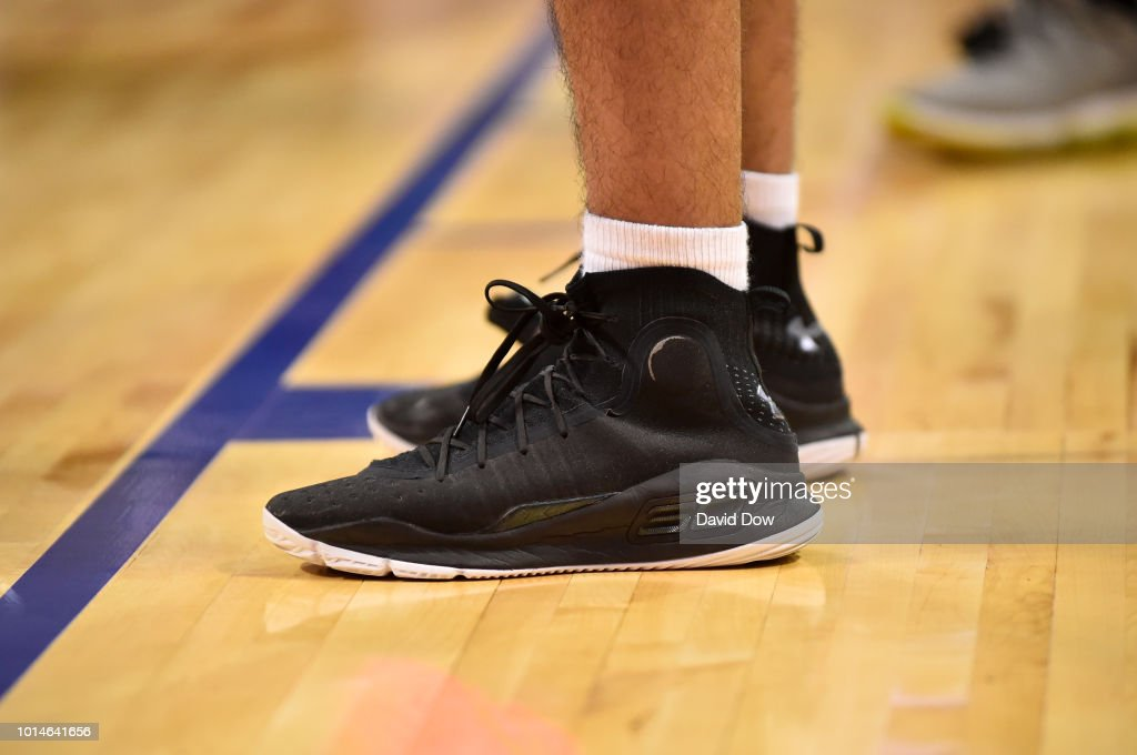 03a11c5bf50 The sneakers of Gaston Santiago Arce of the South America Boys are ...