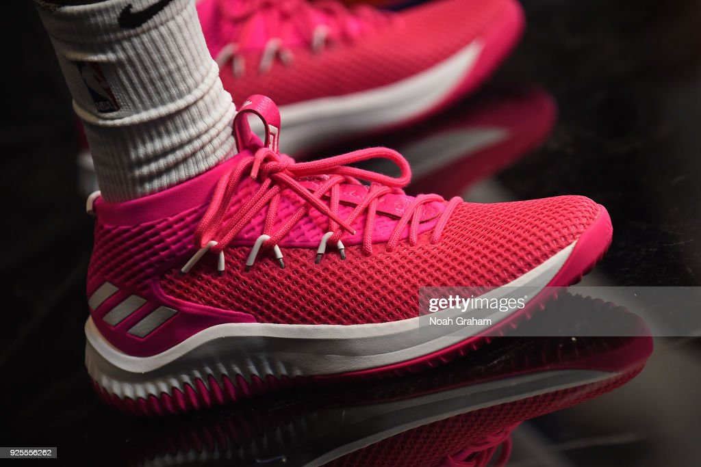 The sneakers of Kris Dunn of the USA Team before the Mtn Dew... News ... 37329c13a