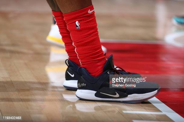 The sneakers worn by Bradley Beal of the Washington Wizards against the Utah Jazz on January 12 2029 at Capital One Arena in Washington DC NOTE TO...