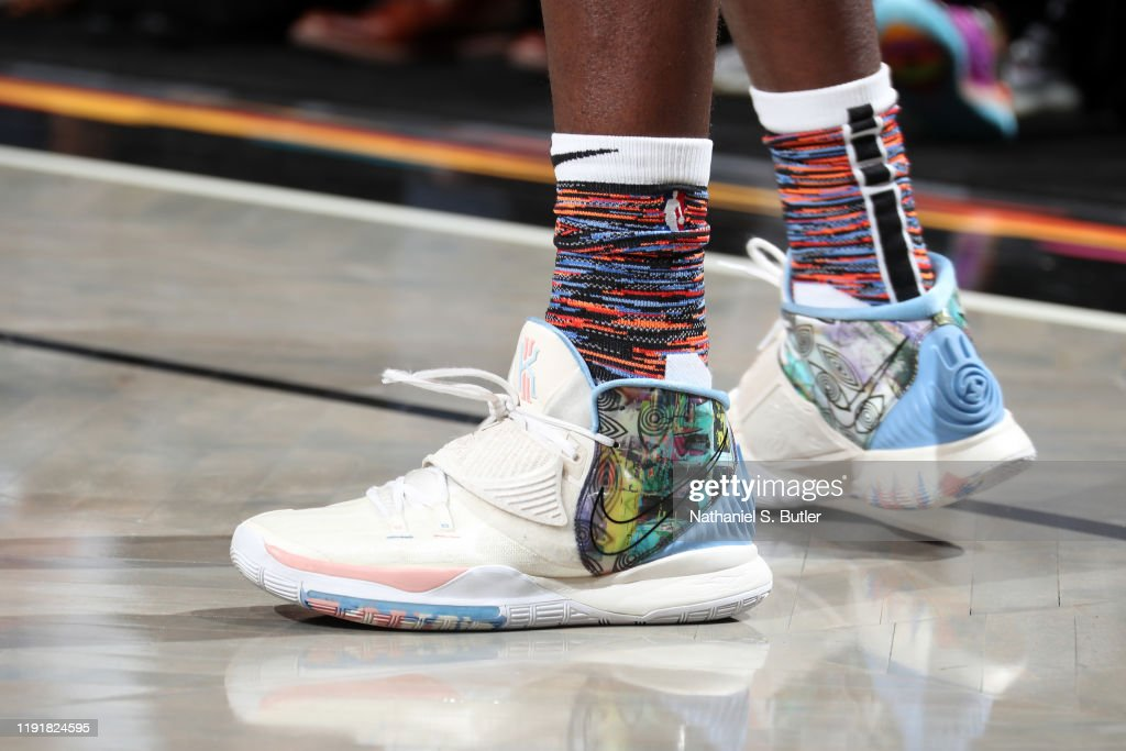 The Sneakers Worn By Caris Levert Of The Brooklyn Nets During The News Photo Getty Images