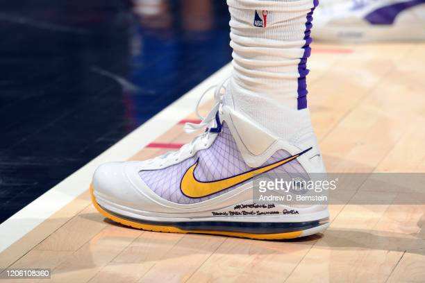 3 480 Lebron James Shoes Photos And Premium High Res Pictures Getty Images