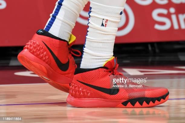 The sneakers worn by Rodney McGruder of the LA Clippers during the game against the Phoenix Suns on December 17 2019 at STAPLES Center in Los Angeles...