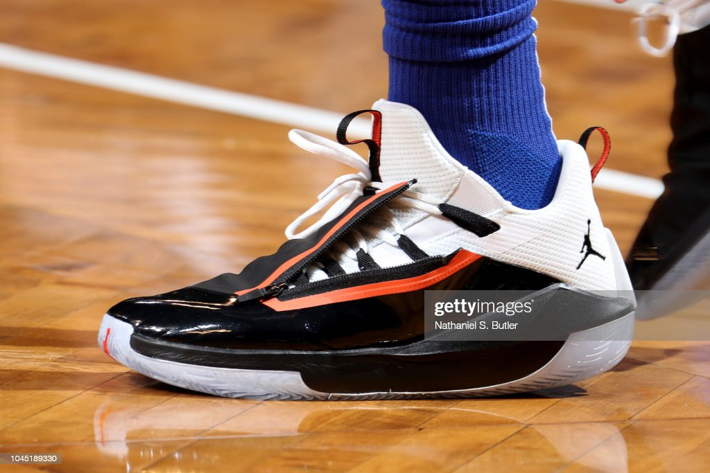 online retailer fca13 563e3 the sneakers worn by Tim Hardaway Jr.,  3 of the New York Knicks are ...