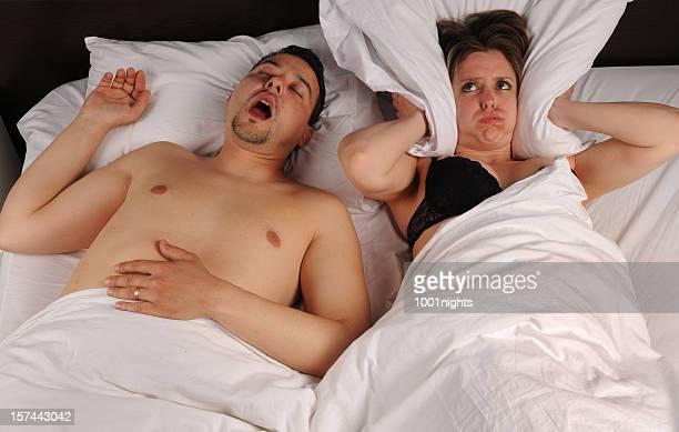 The snoring