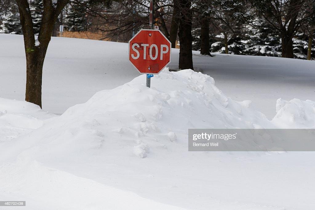 Snow Storm : News Photo
