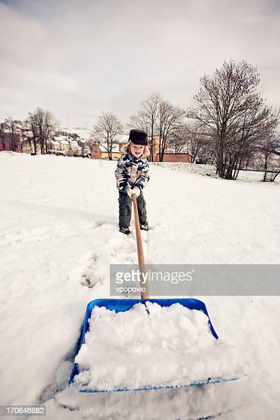 The Snow Shoveler