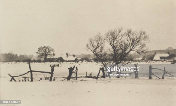 The Snowy Marshlands, 1890-1891, printed 1893. Artist Dr Peter Henry Emerson. .