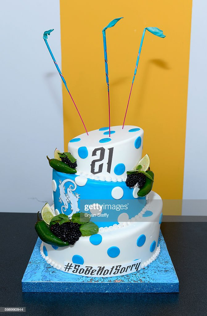 Sensational The Sobe Birthday Cake Is Displayed During The Sobe 21St Birthday Funny Birthday Cards Online Amentibdeldamsfinfo