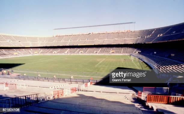 The soccer stadium 'Vicente Calderon' of the'Atletico de Madrid' Madrid Spain