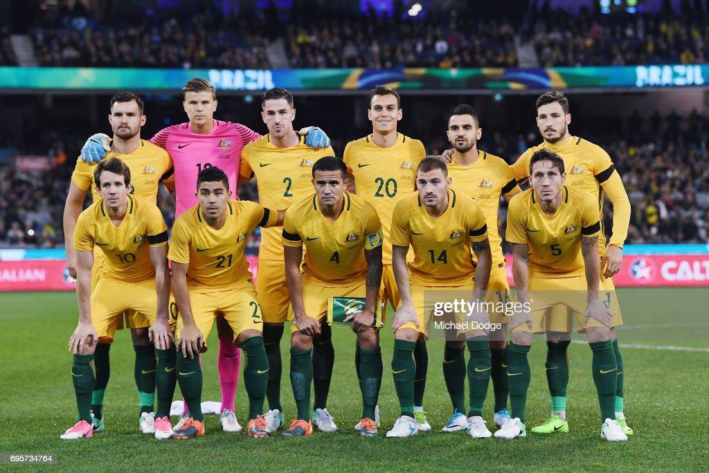 Brasil Global Tour: Australia v Brazil : Nachrichtenfoto