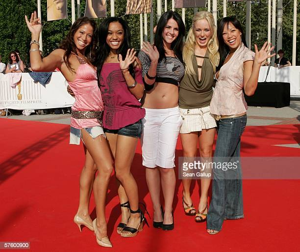 The SOCCX girls arrive at the German Film Awards at the Palais am Funkturm May 12 2006 in Berlin Germany