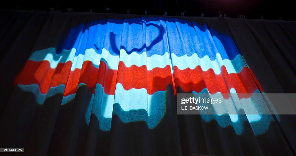 US-VOTE-REPUBLICANS-DEBATE : News Photo