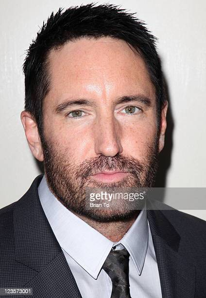 'The Social Network' composer Trent Reznor attends SCL presents annual preOscar champagne reception honoring 2011 Academy Award nominees in score and...