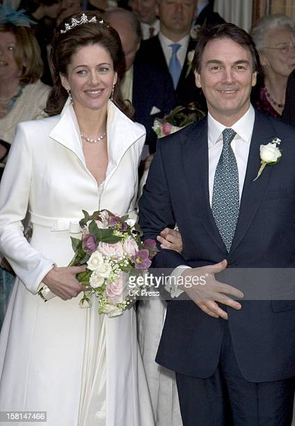 The Society Wedding Of Alan Parker Jane Hardman At Christ Church In Kensington London9/3/07