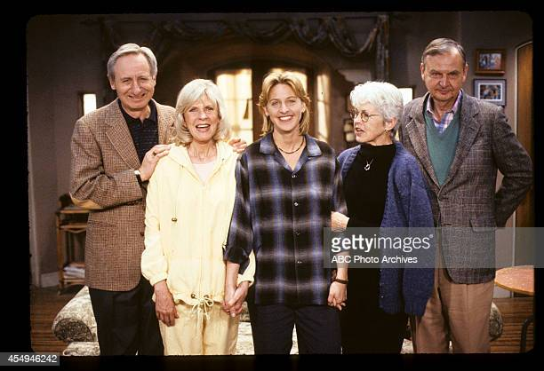 'The Soft Touch' Airdate August 23 1994 ELLEN DEGENERES WITH MOTHER BETTY DEGENERES AND COSTARS STEVEN GILBORN AND