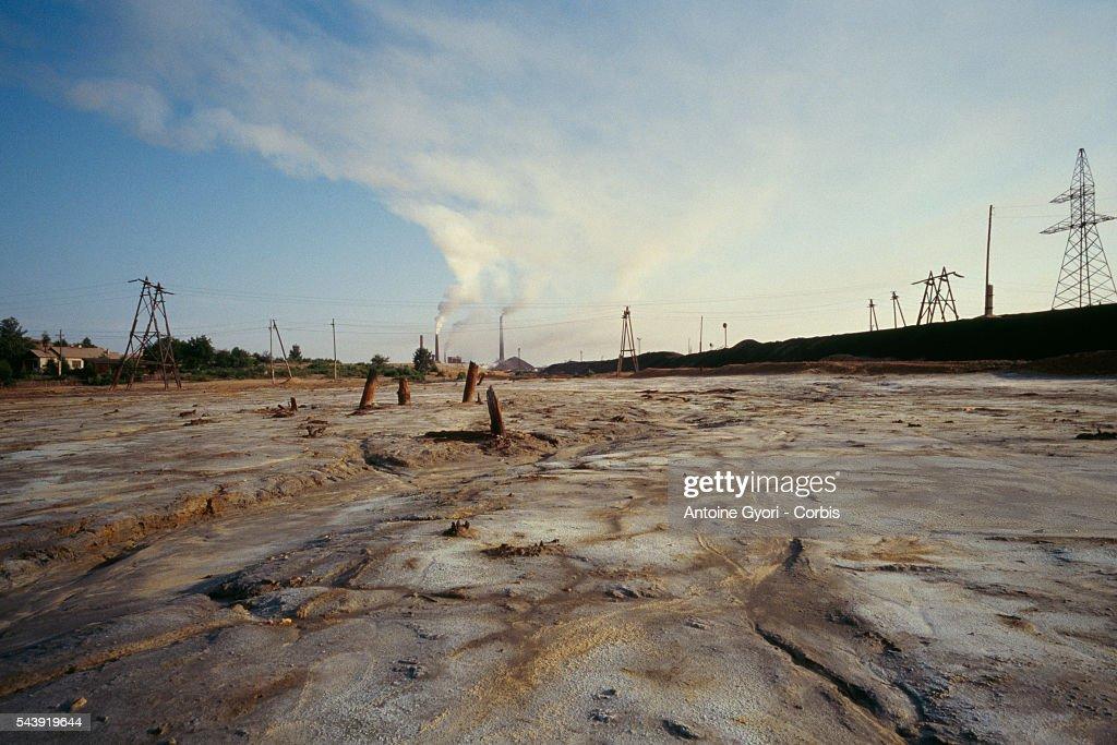 Pollution in the Province of Chelyabinsk : Nachrichtenfoto