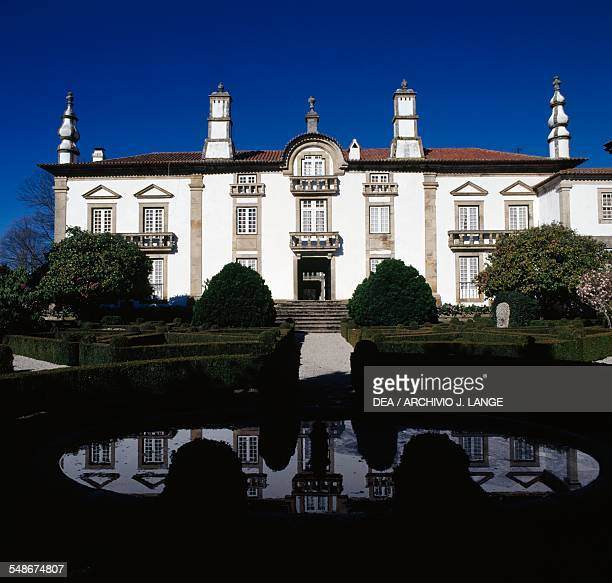 The Solar de Mateus or Mateus Palace residence of the Counts of Vila Real Vila Real Norte Portugal 18th century