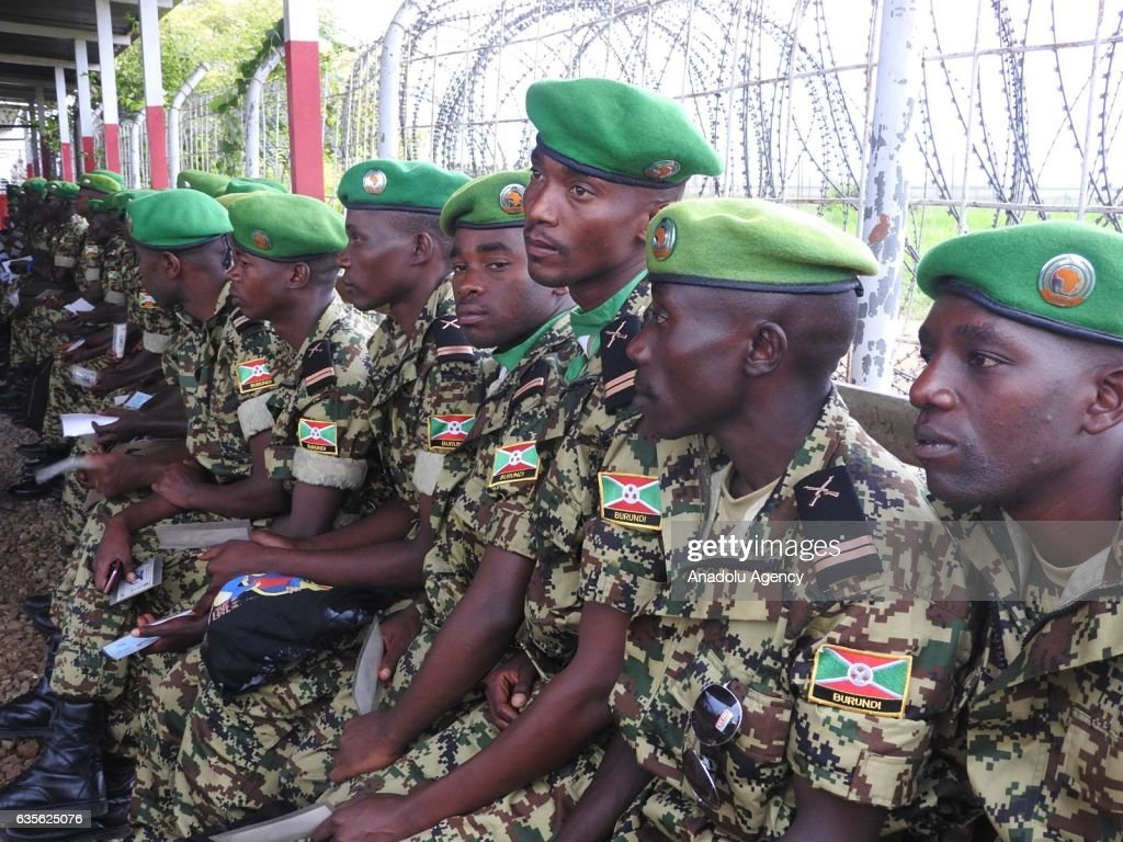 40th battalion of the Burundian Army : News Photo